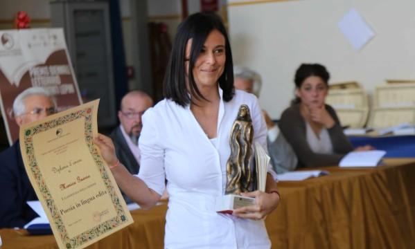 Monica Guerra premiazione concorso Monti Lepini