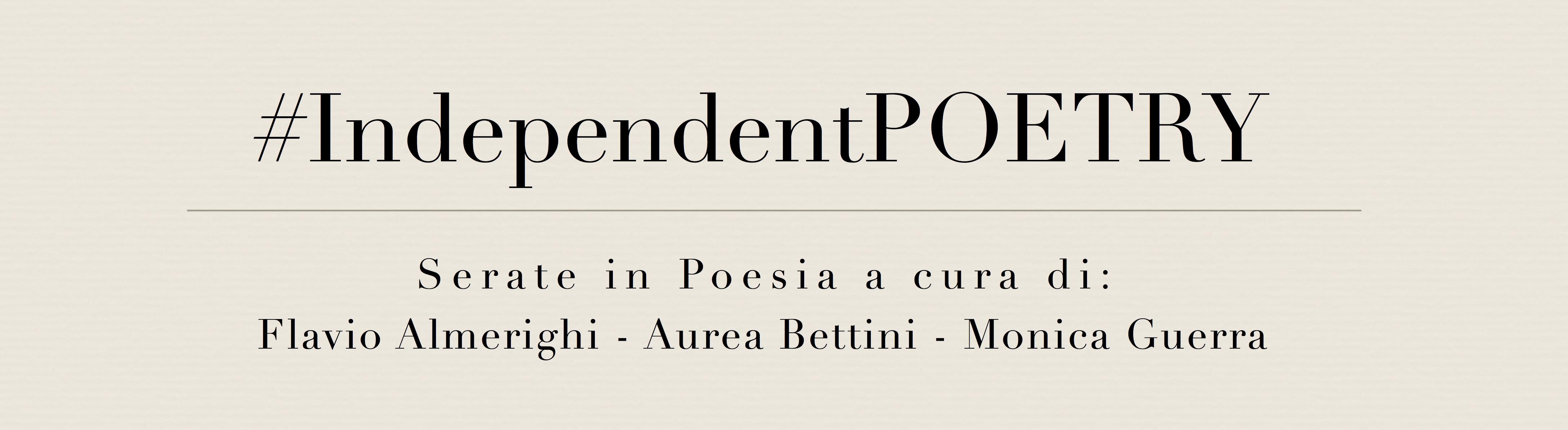 #IndependentPOETRY