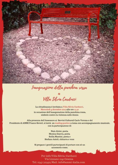 contro la violenza sulle donne, Villa Silvia, Cesena