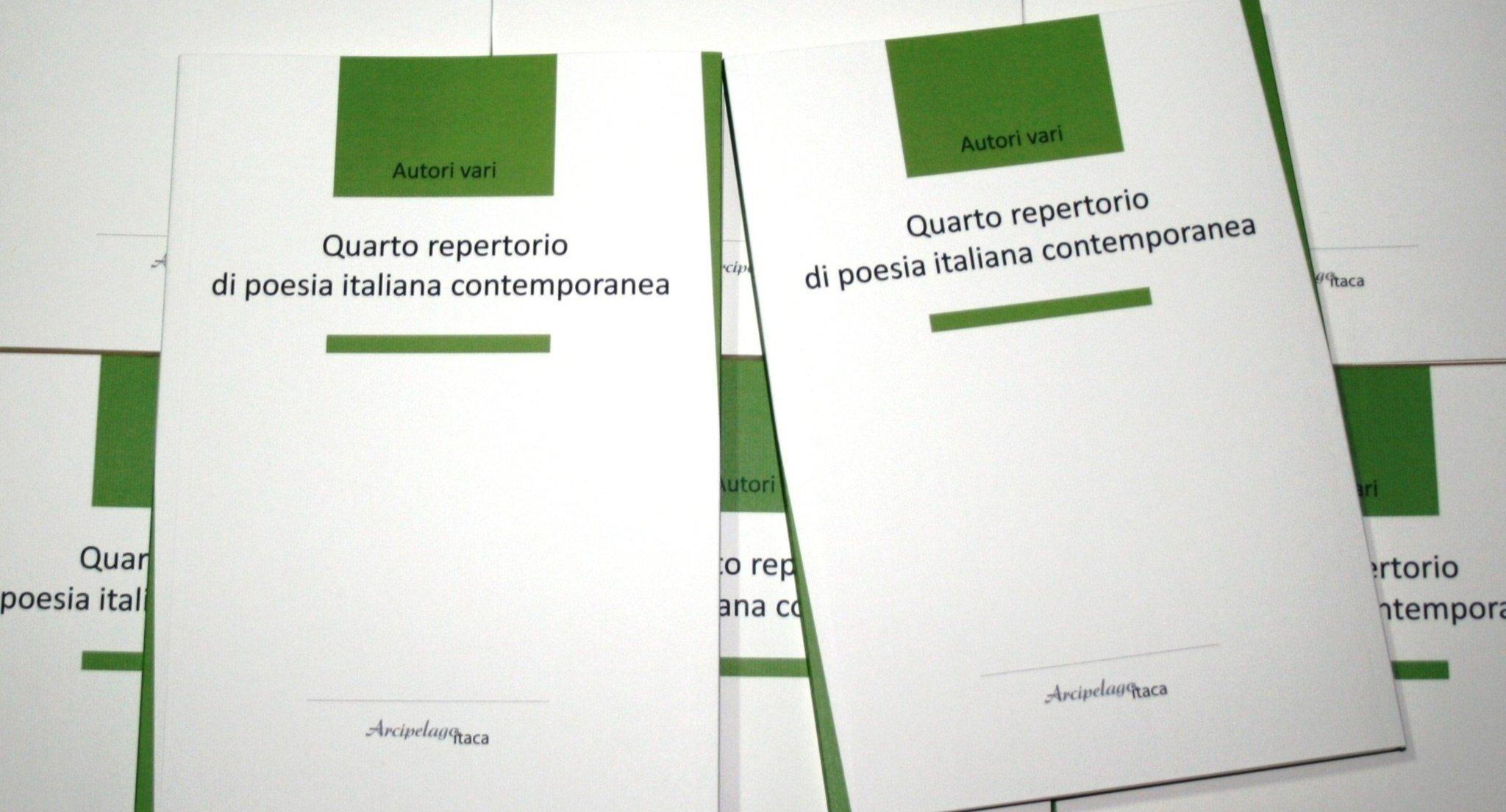 Quarto repertorio di poesia italiana contemporanea  (Arcipelago Itaca, 2020)